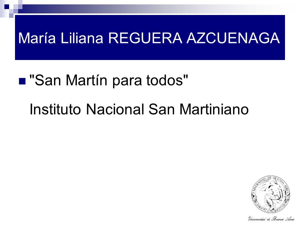 María Liliana REGUERA AZCUENAGA