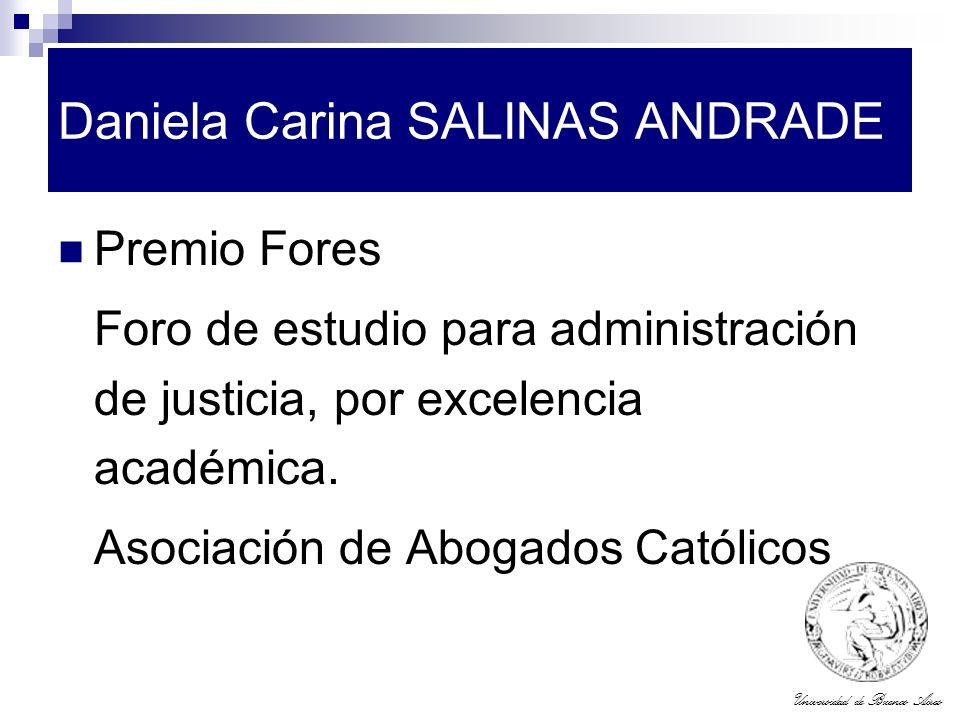 Daniela Carina SALINAS ANDRADE