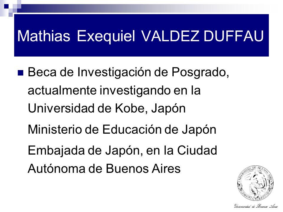Mathias Exequiel VALDEZ DUFFAU