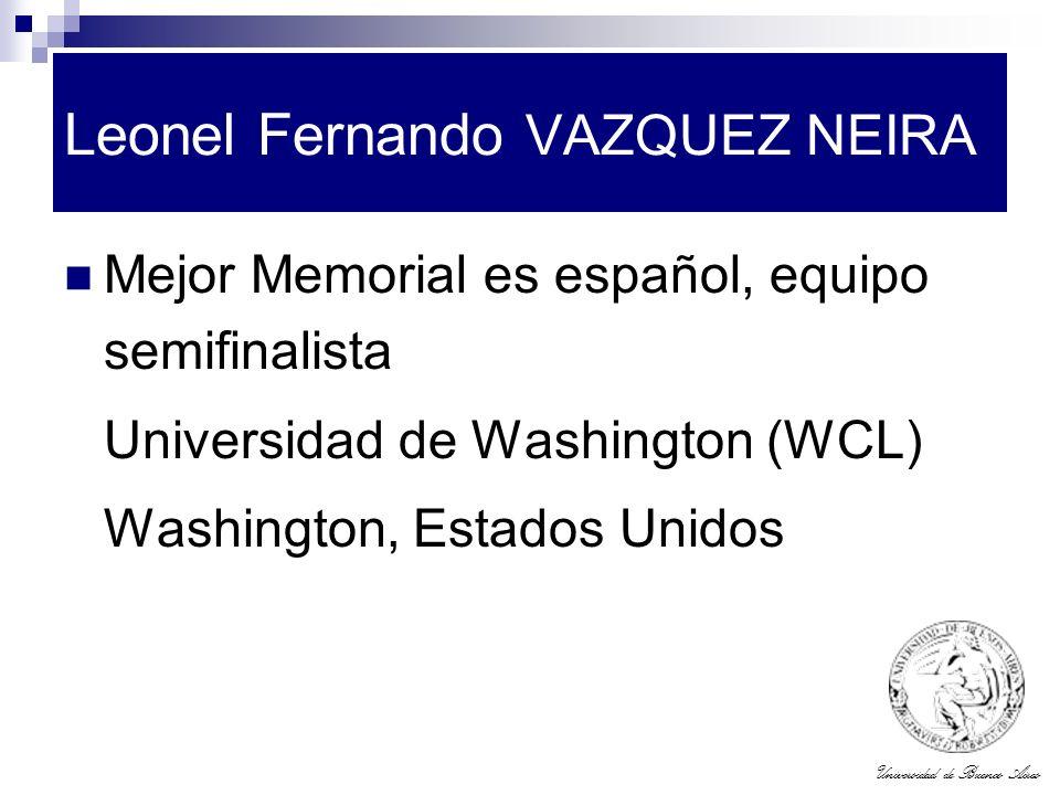 Leonel Fernando VAZQUEZ NEIRA
