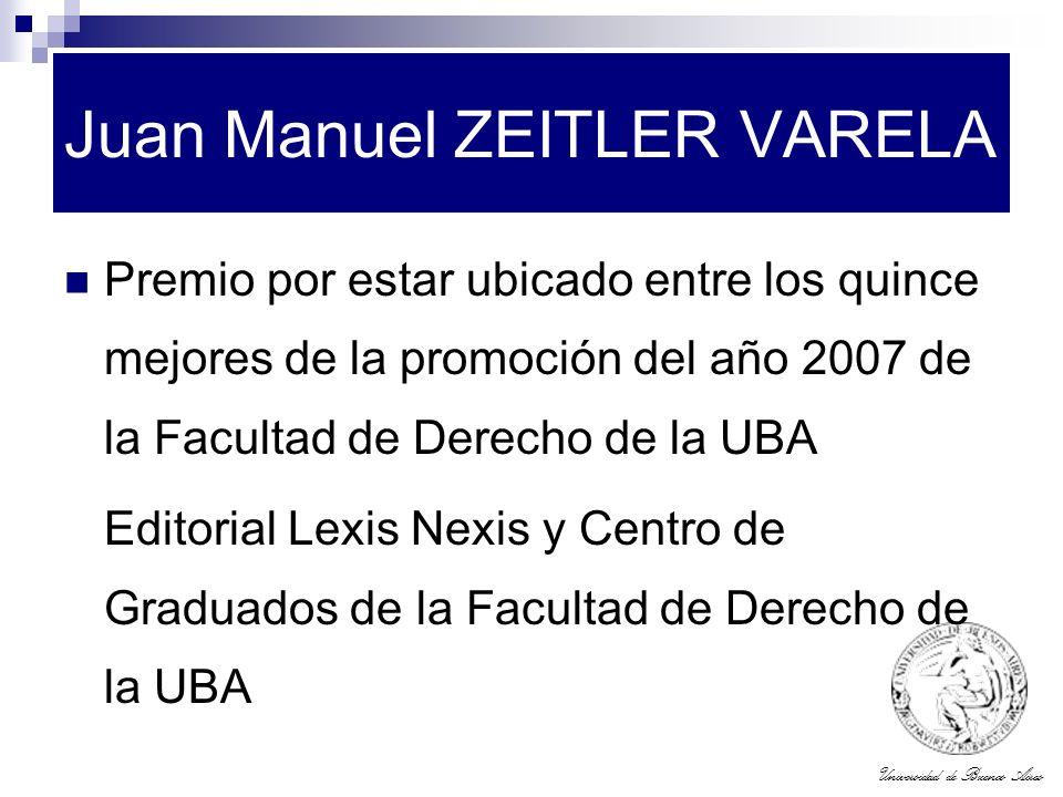 Juan Manuel ZEITLER VARELA