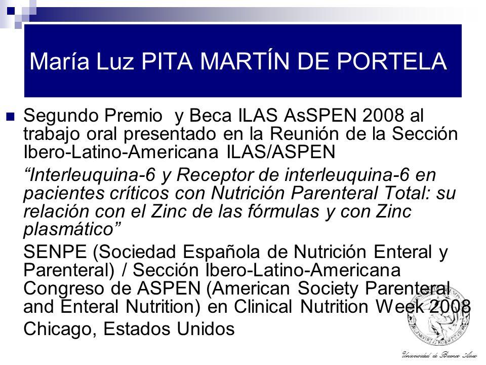 María Luz PITA MARTÍN DE PORTELA