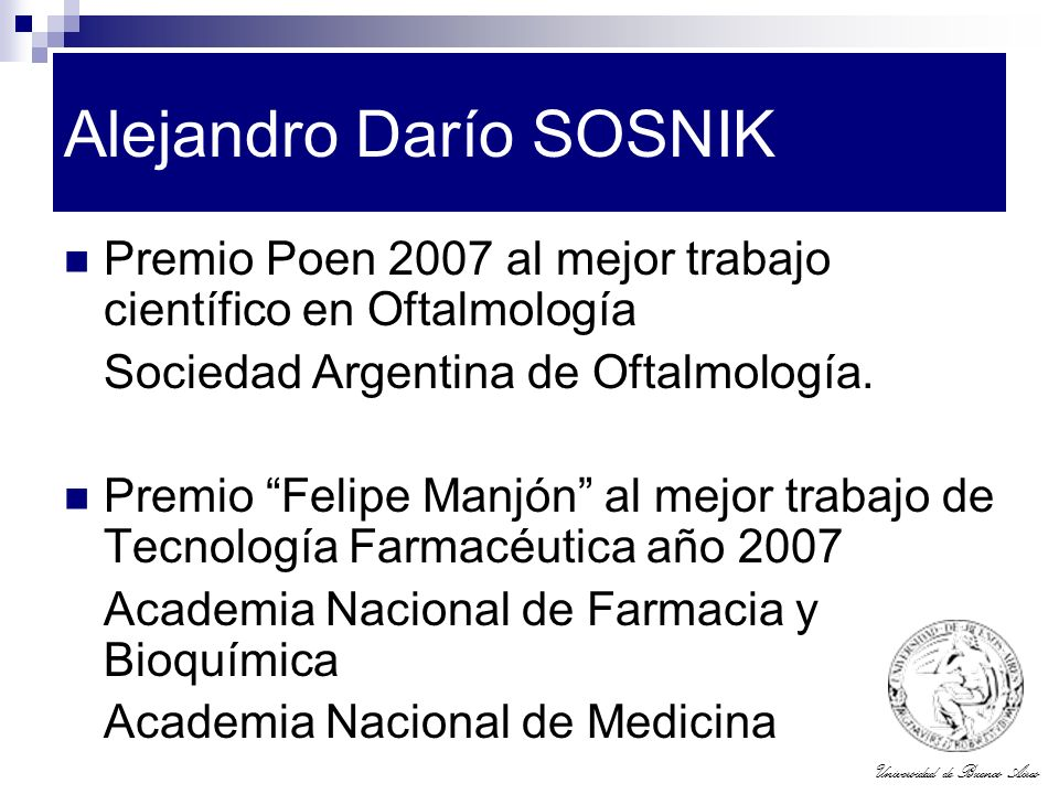 Alejandro Darío SOSNIK