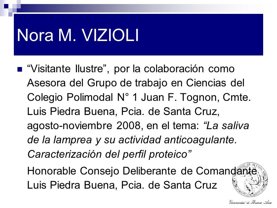 Nora M. VIZIOLI