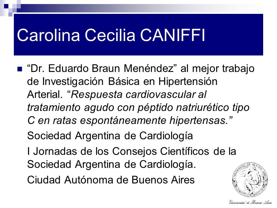 Carolina Cecilia CANIFFI