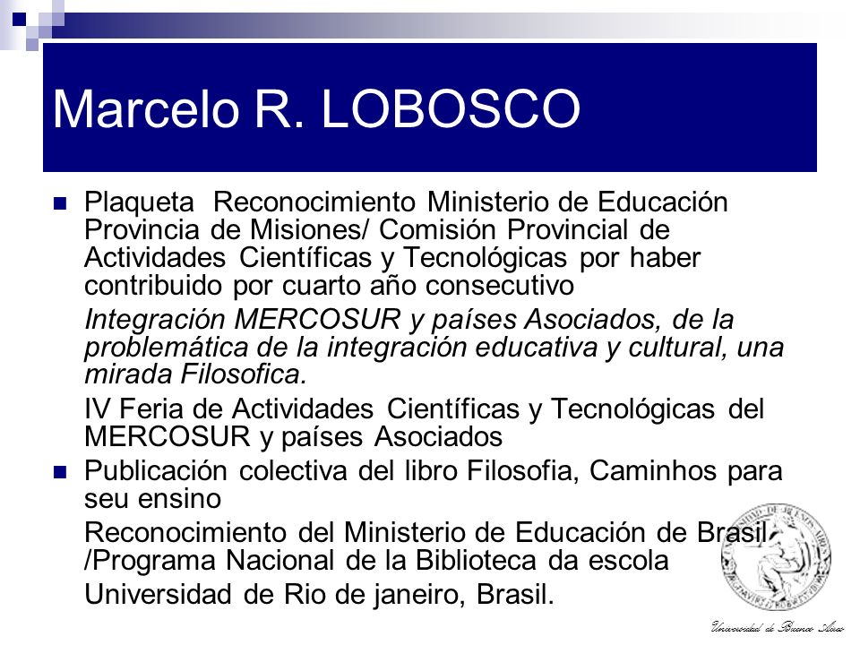 Marcelo R. LOBOSCO