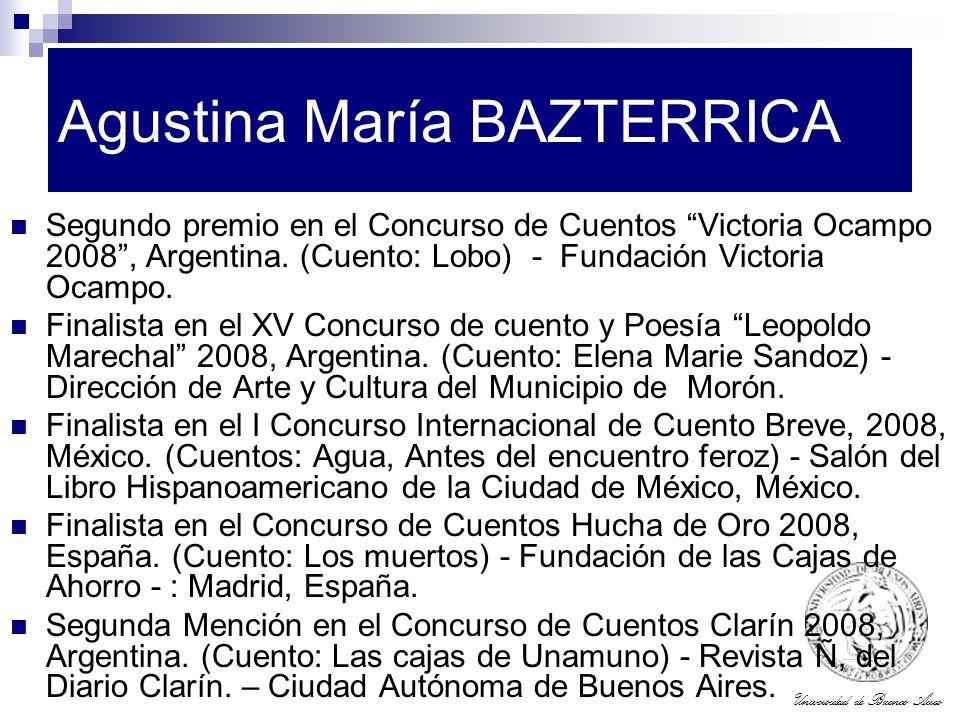 Agustina María BAZTERRICA