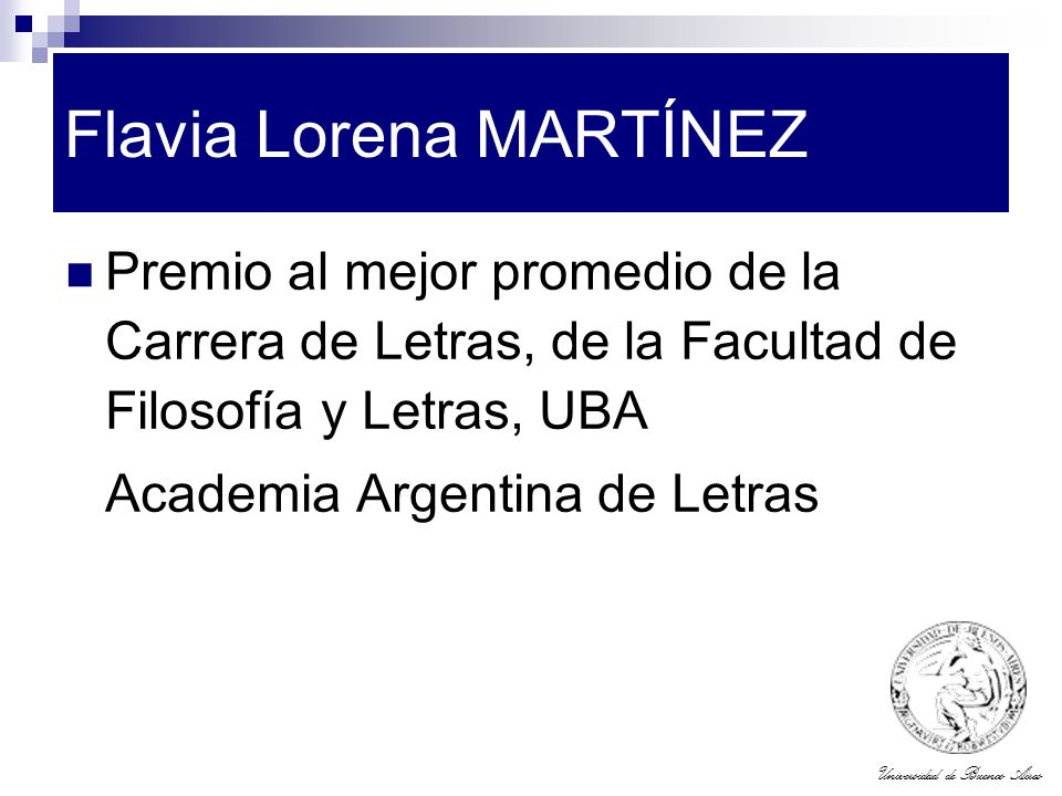 Flavia Lorena MARTÍNEZ