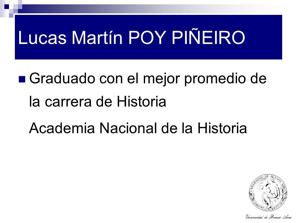 Lucas Martín POY PIÑEIRO