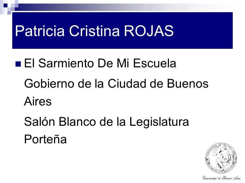 Patricia Cristina ROJAS