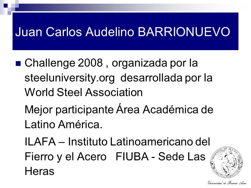 Juan Carlos Audelino BARRIONUEVO