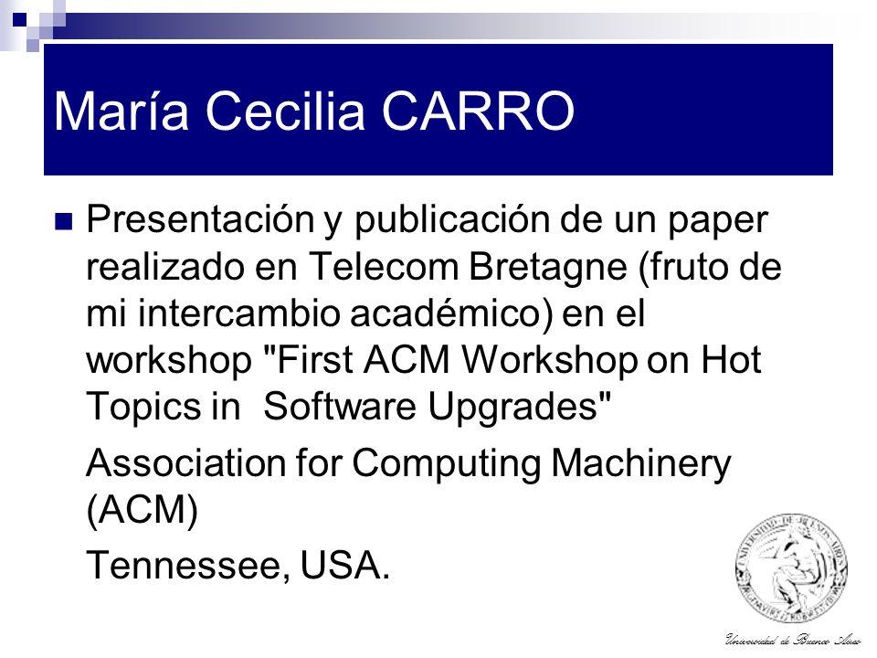 María Cecilia CARRO