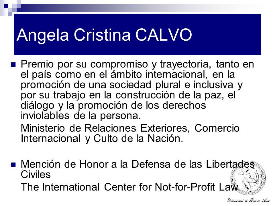 Angela Cristina CALVO