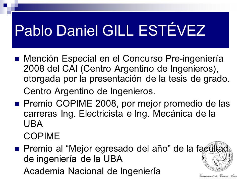 Pablo Daniel GILL ESTÉVEZ