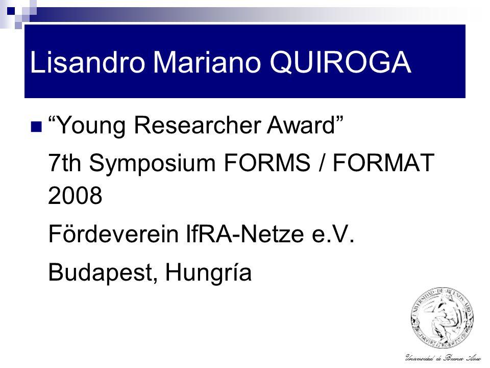 Lisandro Mariano QUIROGA