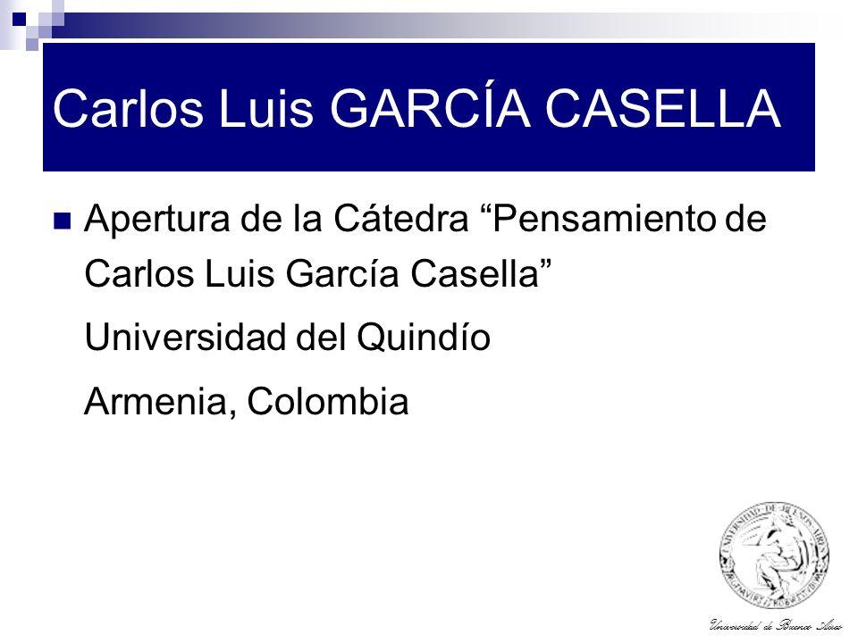 Carlos Luis GARCÍA CASELLA