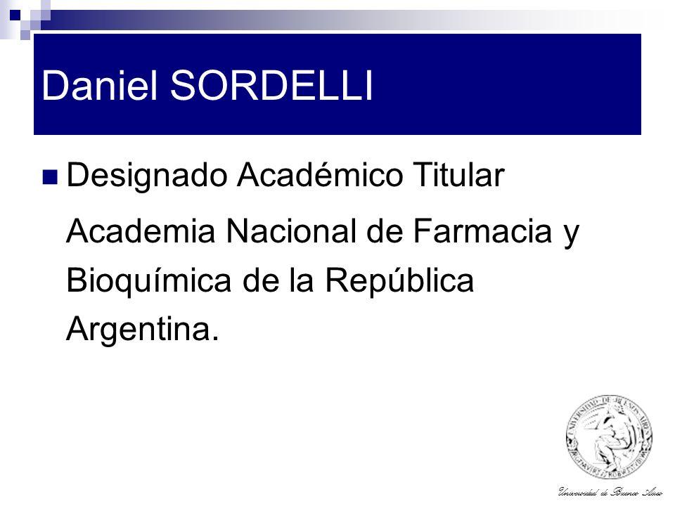 Daniel SORDELLI Designado Académico Titular