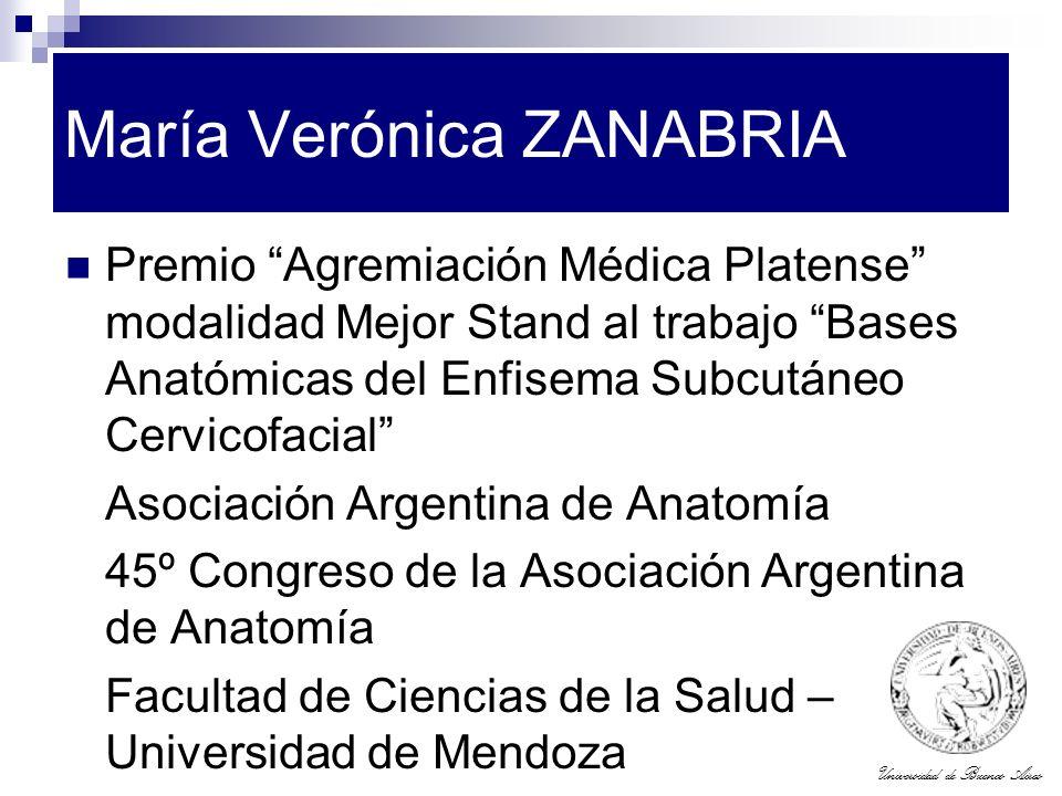 María Verónica ZANABRIA