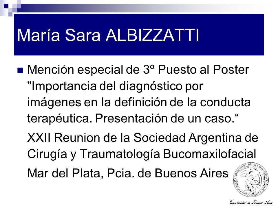 María Sara ALBIZZATTI