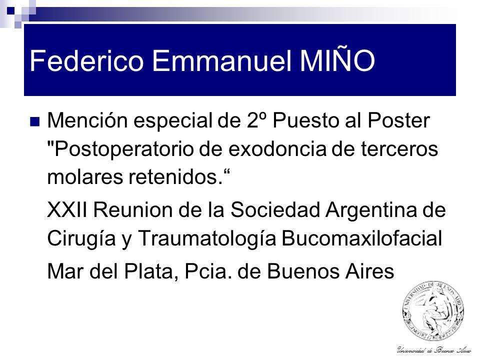 Federico Emmanuel MIÑO