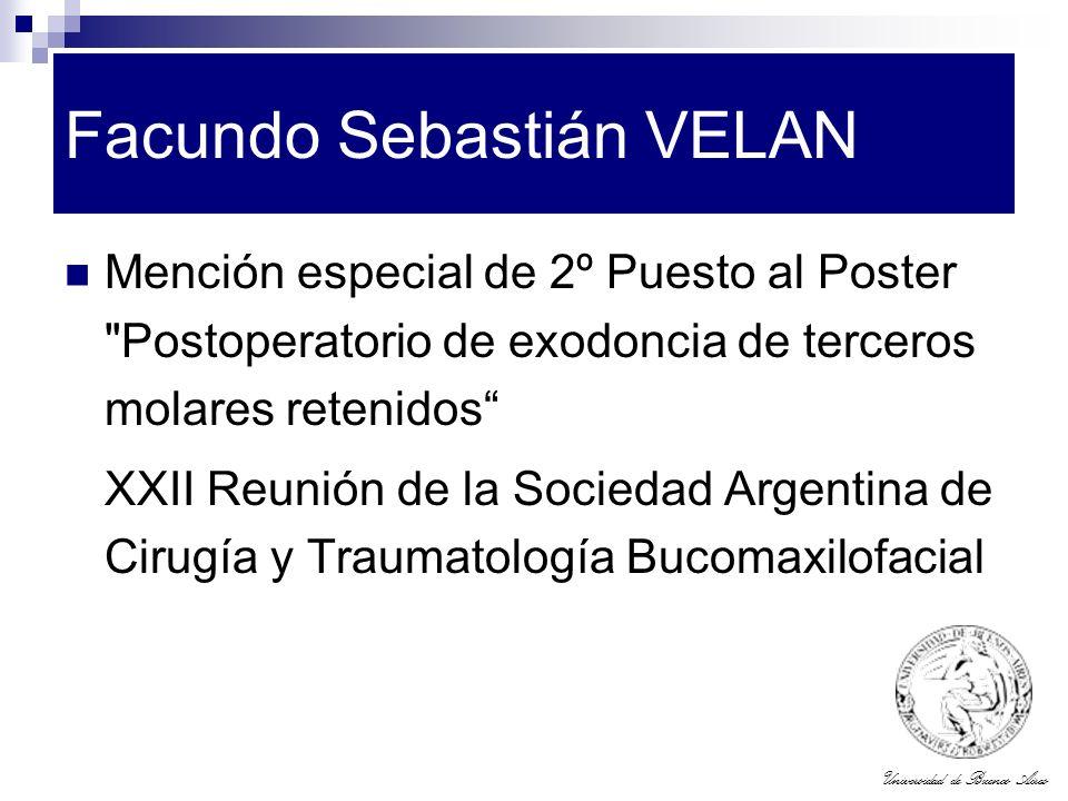 Facundo Sebastián VELAN