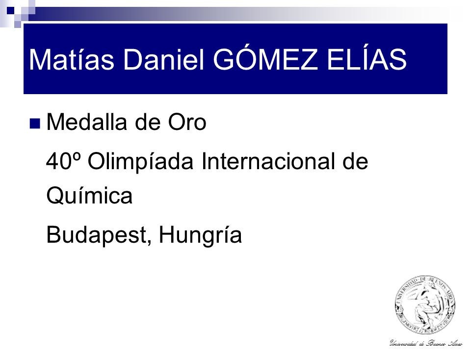 Matías Daniel GÓMEZ ELÍAS