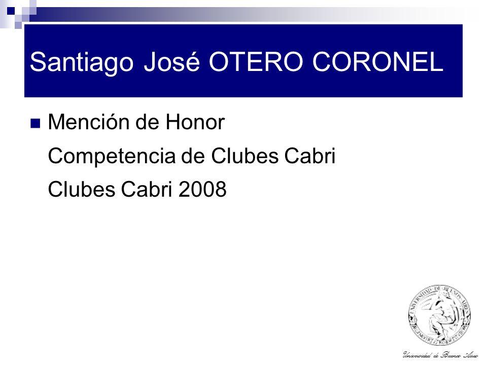 Santiago José OTERO CORONEL