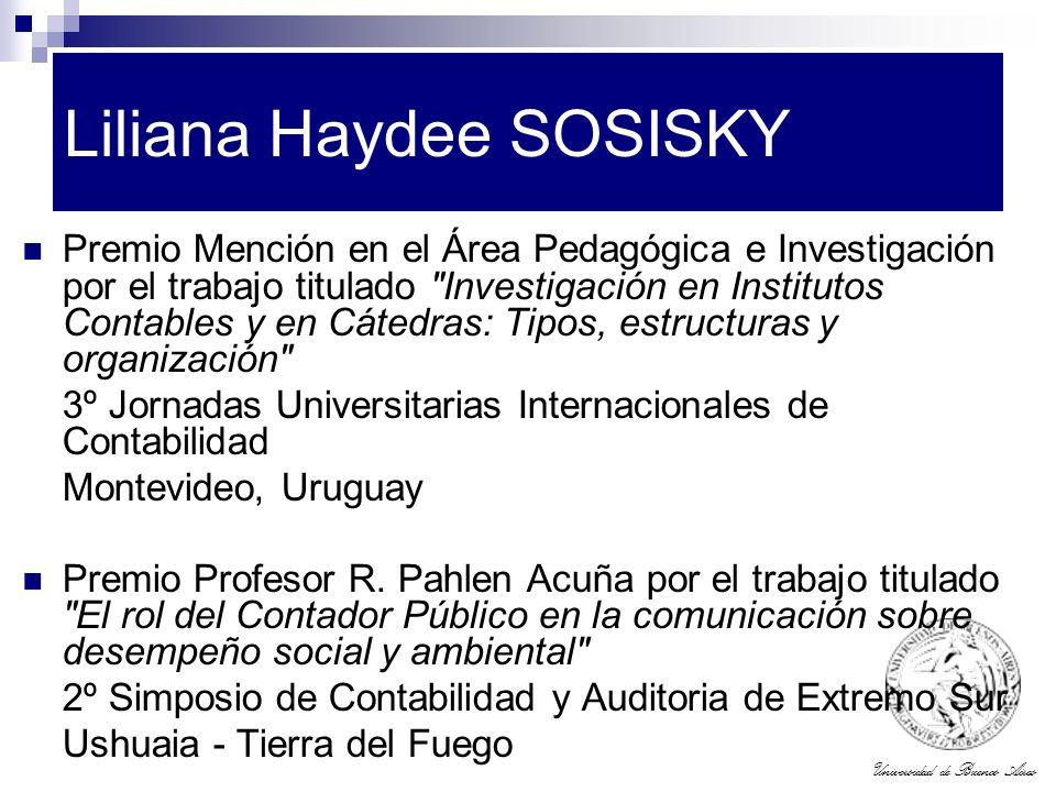 Liliana Haydee SOSISKY