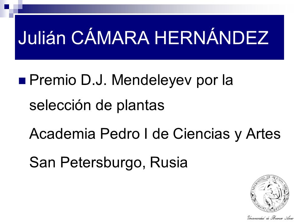 Julián CÁMARA HERNÁNDEZ