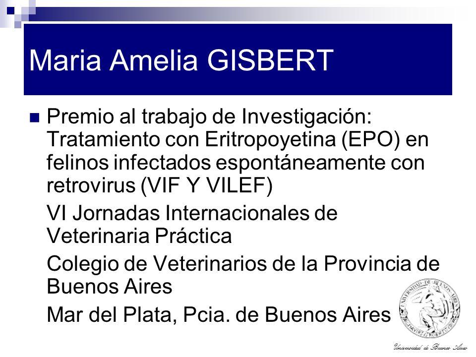 Maria Amelia GISBERT