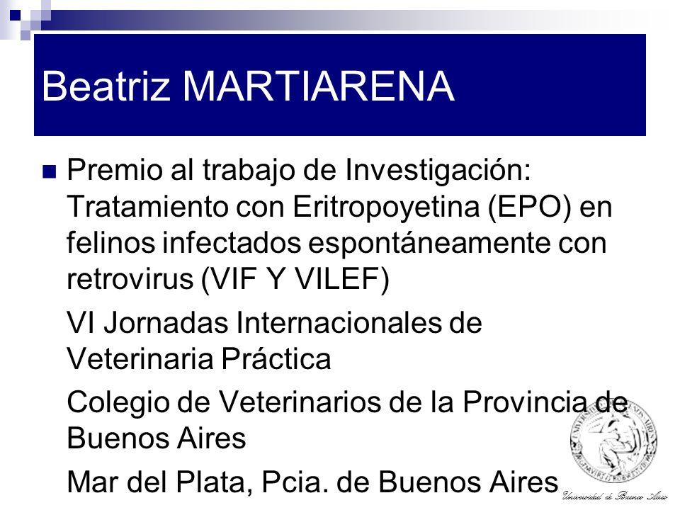 Beatriz MARTIARENA