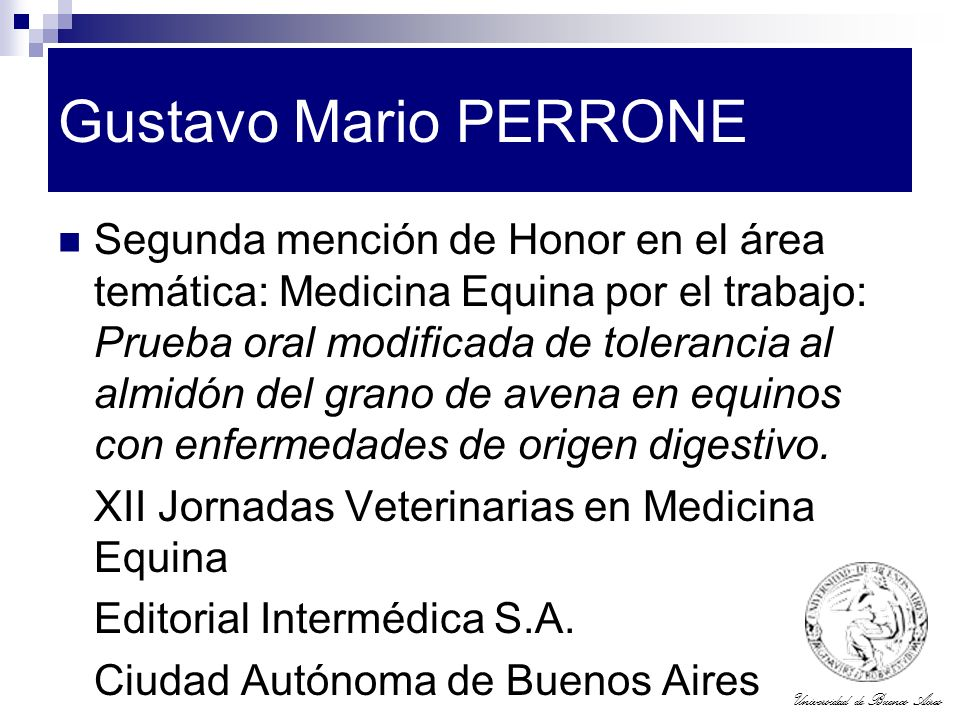 Gustavo Mario PERRONE
