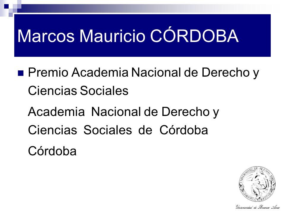 Marcos Mauricio CÓRDOBA