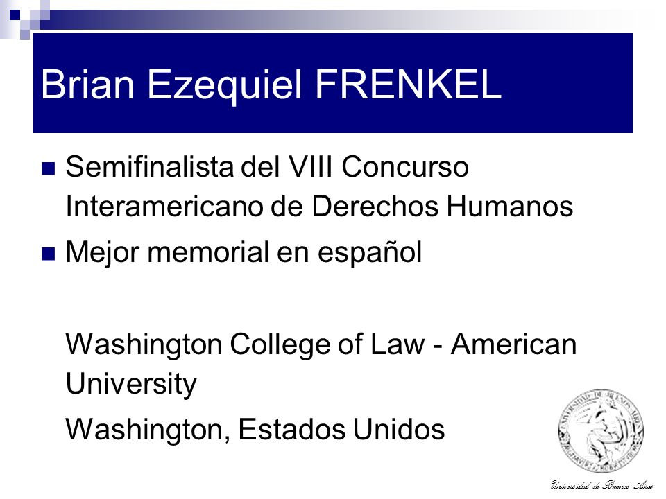 Brian Ezequiel FRENKEL