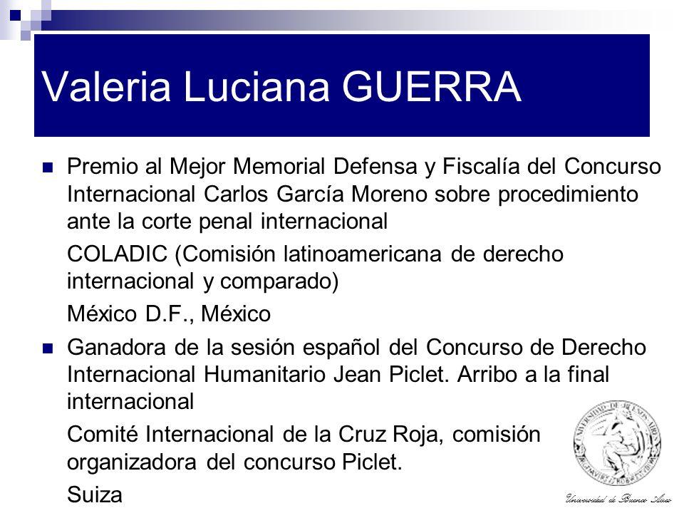 Valeria Luciana GUERRA
