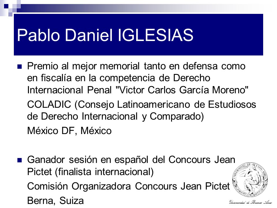 Pablo Daniel IGLESIAS