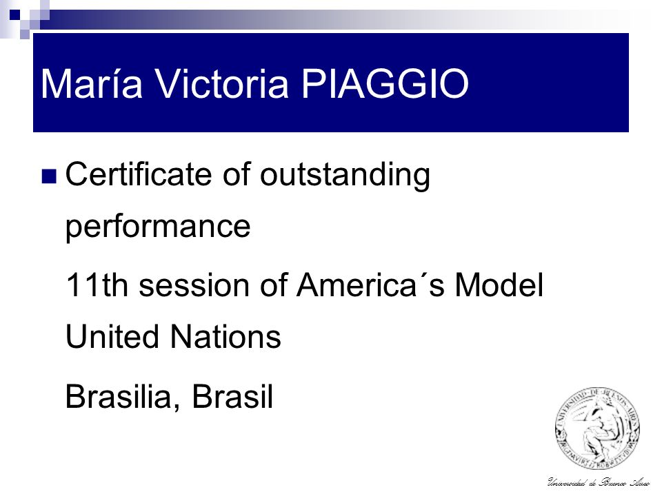 María Victoria PIAGGIO
