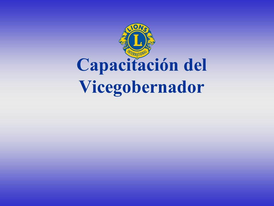 Capacitación del Vicegobernador
