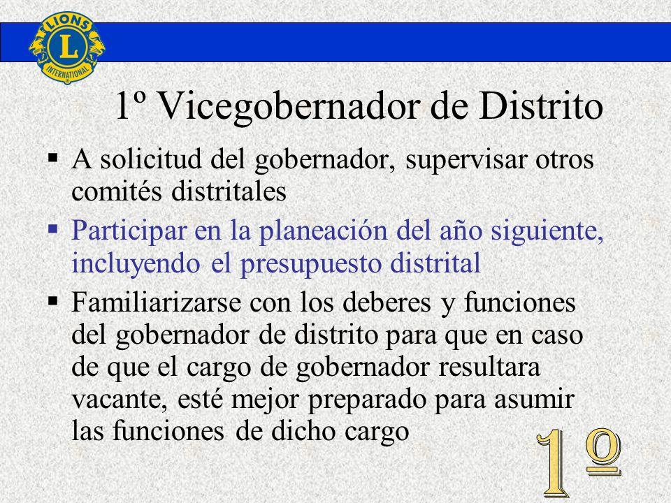 1º Vicegobernador de Distrito