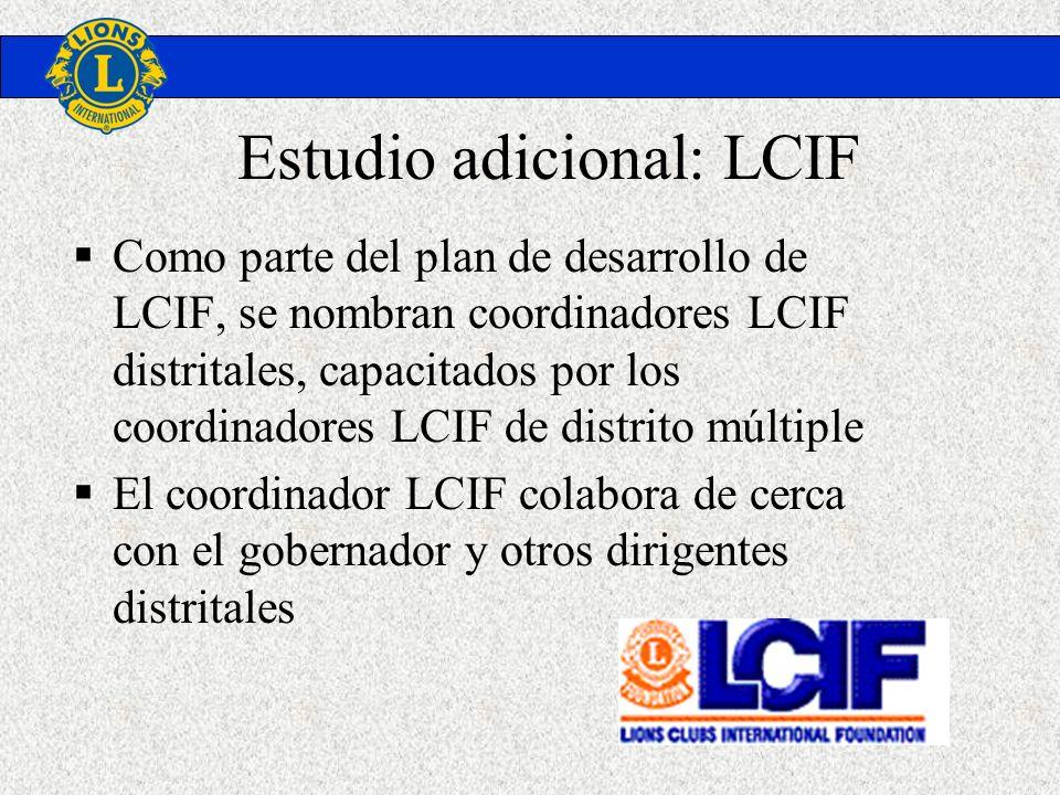 Estudio adicional: LCIF