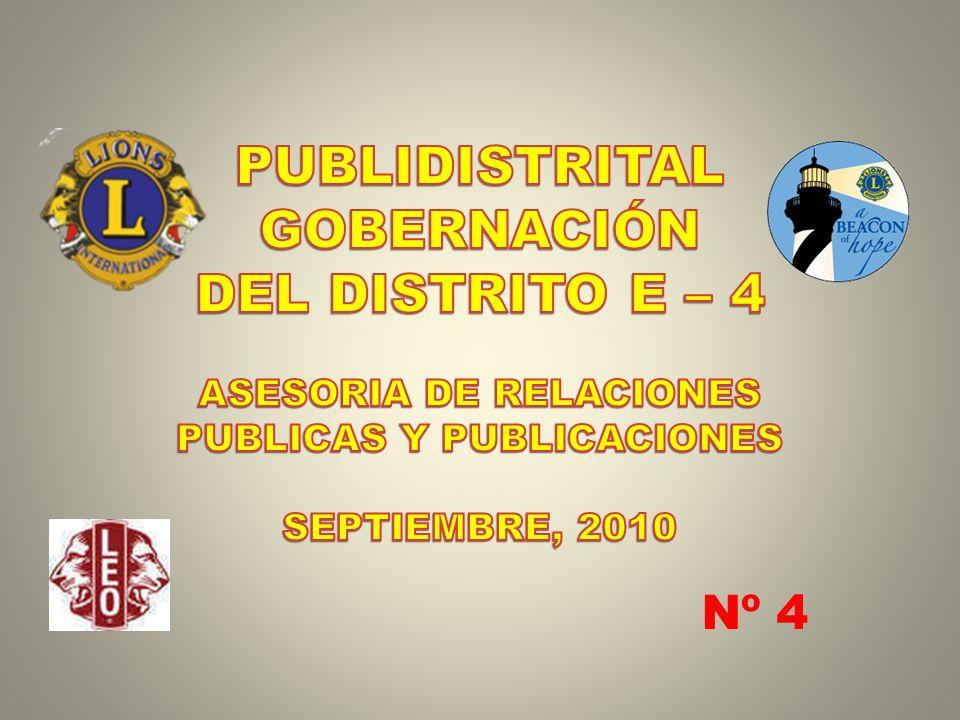 ASESORIA DE RELACIONES PUBLICAS Y PUBLICACIONES