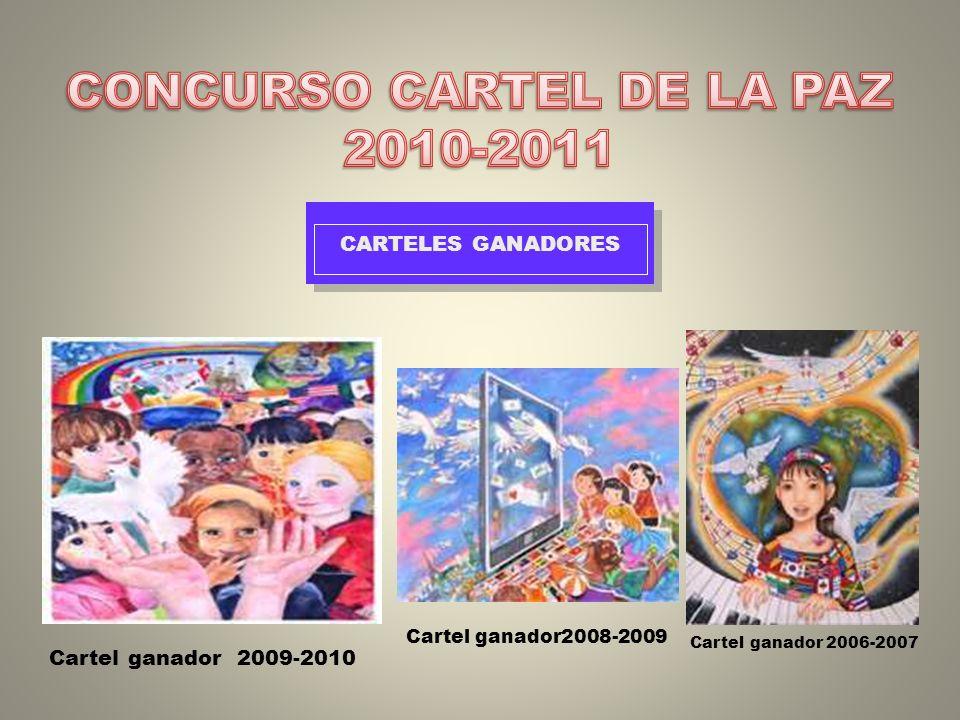 CONCURSO CARTEL DE LA PAZ