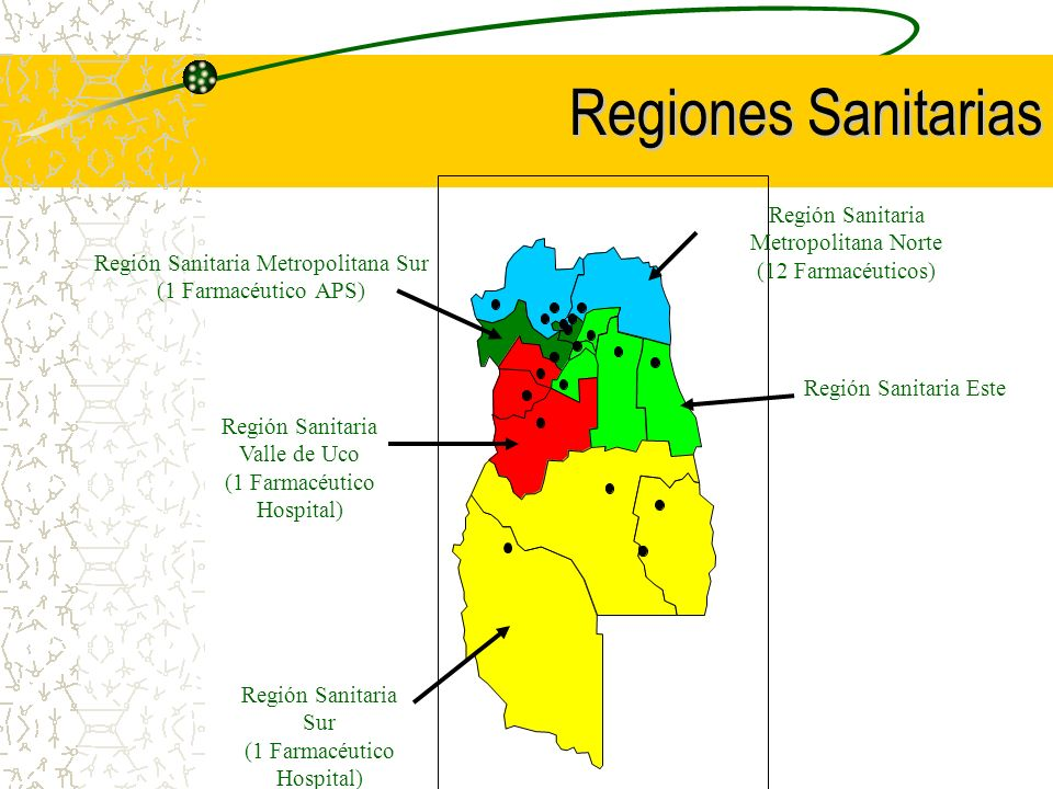 Regiones Sanitarias Región Sanitaria Metropolitana Norte