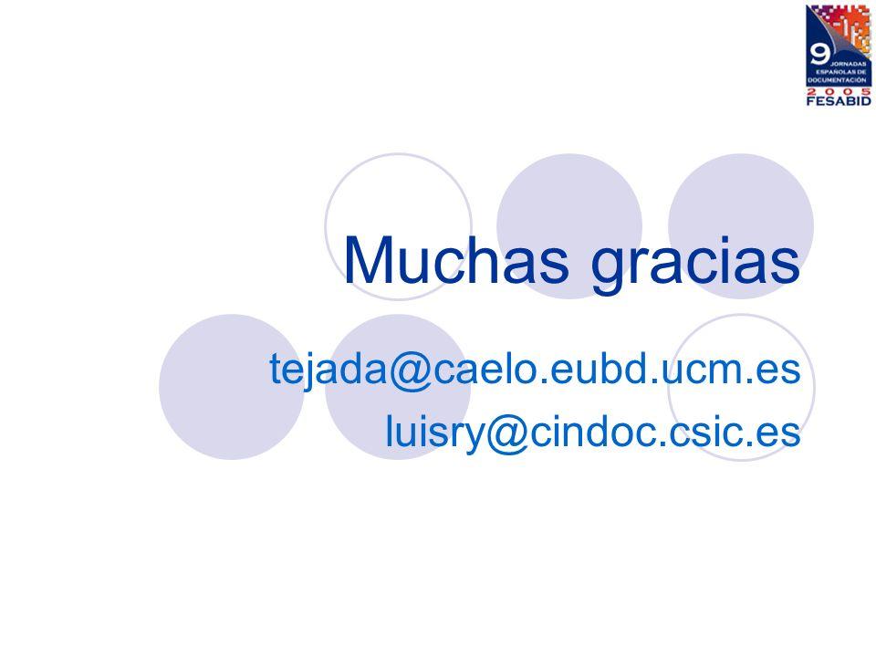 tejada@caelo.eubd.ucm.es luisry@cindoc.csic.es
