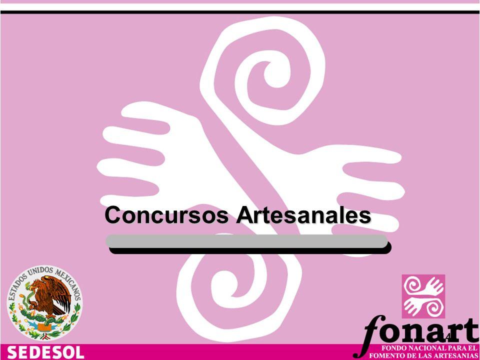 Concursos Artesanales