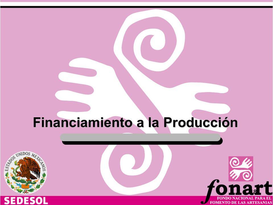 Financiamiento a la Producción