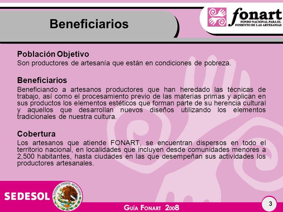 Beneficiarios Población Objetivo Beneficiarios Cobertura