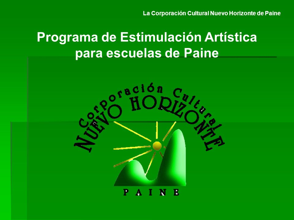 Programa de Estimulación Artística