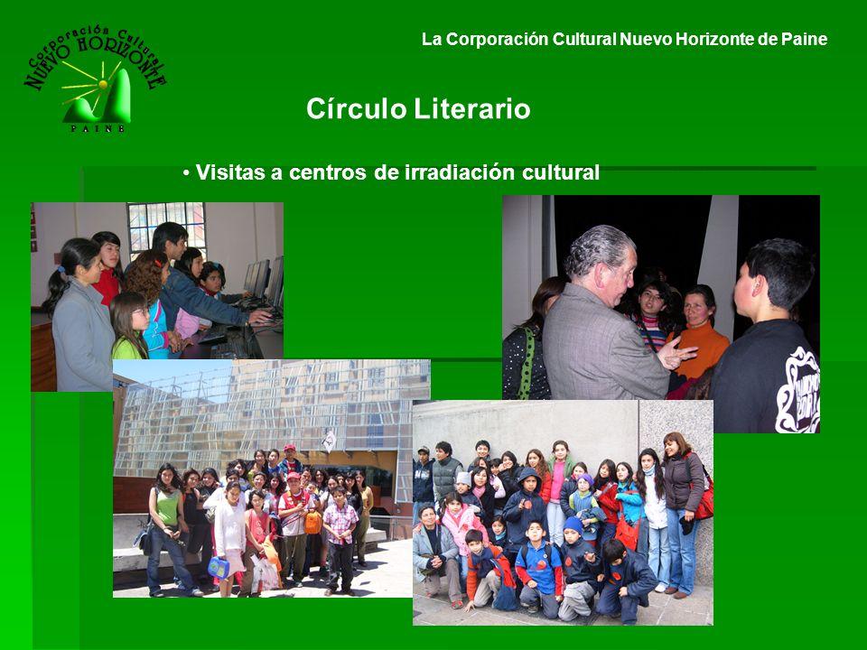 Círculo Literario Visitas a centros de irradiación cultural