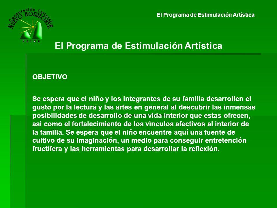 El Programa de Estimulación Artística